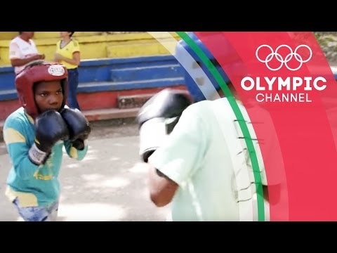 The Colombian Kids Finding Refuge in Boxing   Camps to Champs