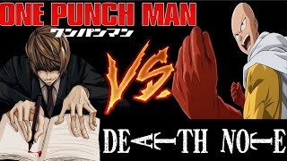 getlinkyoutube.com-Death Note VS One-Punch Man (PARODIA)