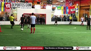 Tilza Morelos vs. Chicago Dragones Semifinal Liga Interamericana