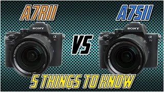 Sony A7Rii vs Sony A7Sii / 5 Things To Know