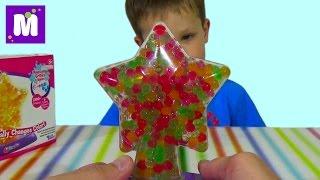 getlinkyoutube.com-Орбиз светильник с разноцветными шариками Orbeez Light-Up Star set