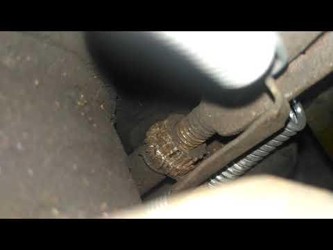 Регулировка ручника барабанных тормозов на BMW E36. Проблемы и решения