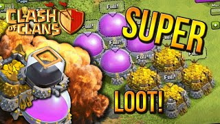 """""""SAVE YOUR LOOT"""" - Town Hall 8 FARMING BASE (CoC TH8) BEST Base Layout 2015"""