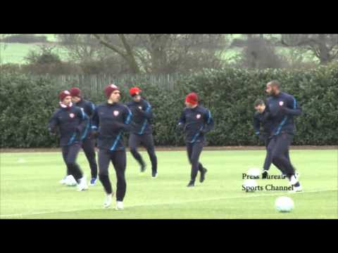 Thierry Henry's last Arsenal Training Session 2012