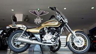 getlinkyoutube.com-#Bikes@Dinos: Bajaj Avenger Cruise 220 Desert Gold Edition Review, Walkaround