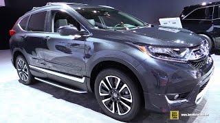 getlinkyoutube.com-2017 Honda CRV Touring AWD - Exterior and Interior Walkaround - 2017 Detroit Auto Show