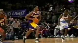 getlinkyoutube.com-1998 All Star Game: Jordan to Kobe - Passing of the torch