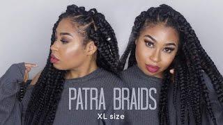 getlinkyoutube.com-Box Braids XL Size|  DIY 4 Simple Steps!