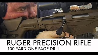 getlinkyoutube.com-Ruger Precision Rifle 100 Yard One Page Drill