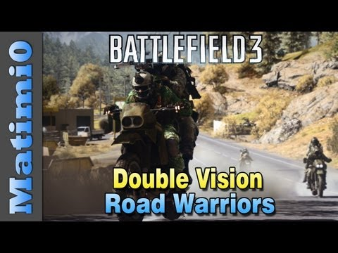 C4 Road Warriors - Dirt Bike Double Vision (Battlefield 3 Gameplay/Commentary)