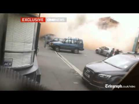 New video of moment Christchurch earthquake struck