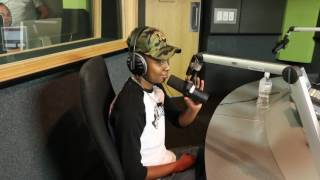 .@reece_youngking  gets pranked on #TheDriveOnMetroFM