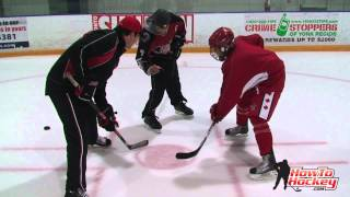 getlinkyoutube.com-NHL Player Wayne Primeau shares tips to win face offs - Howtohockey.com