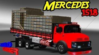 getlinkyoutube.com-Euro Truck Simulator 2-- Mercedes Benz 1518 by_Cesar