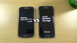 getlinkyoutube.com-Galaxy S6 Edge VS Galaxy S4 Official Lollipop - Speed Test!