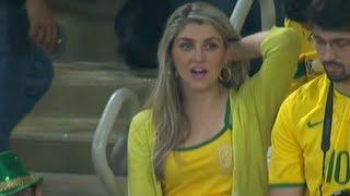 أجمل مشجعة برازيلية قد تراها عيناك