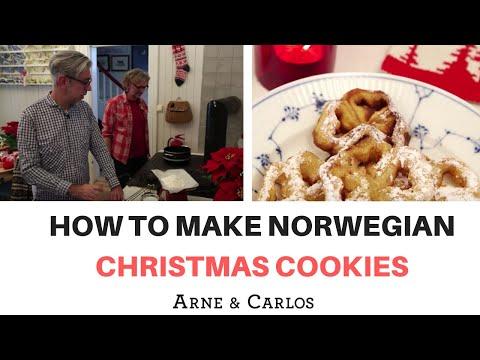 How to make Norwegian Christmas Cookies by ARNE & CARLOS