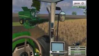 getlinkyoutube.com-The NEW John Deere s680 Picking Beans on WhitePines Farming Simulator 2013