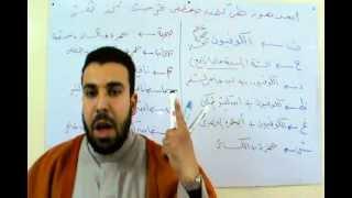 مقدمة الشاطبية - خطبة الكتاب  د/ أحمد عبدالحكيم