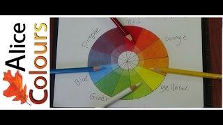 getlinkyoutube.com-تعلم المزج والدمج والتلوين بالألوان الخشبية للمبتدئين #1