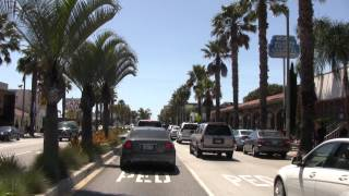 """getlinkyoutube.com-Wilshire Blvd from Rodeo Drive to the ocean in Santa Monica ( HD ) """"Be a passenger in my car""""."""
