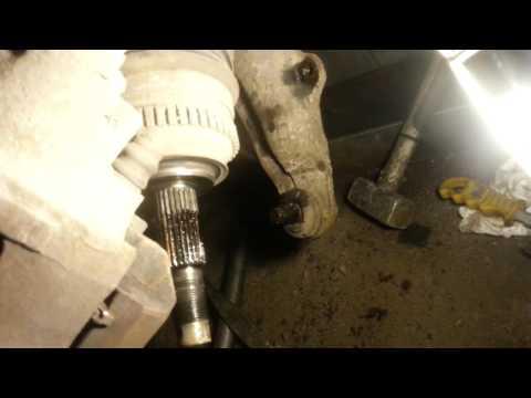 Расположение пыльника внутреннего шруса в Chrysler 300C