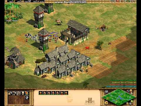 Age of Empires The Concorers - Multiplayer Yucatan Tower Rush