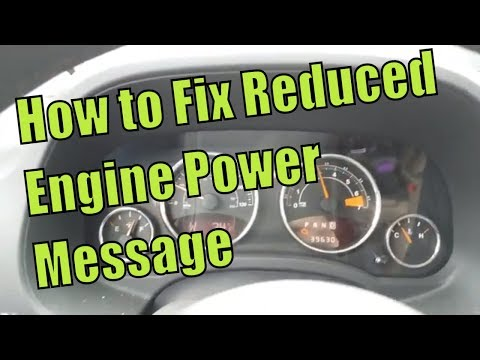 """P2101 Reduced Engine Power Message  """"Heres What to Do"""""""