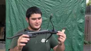getlinkyoutube.com-Quick Review and Shooting the Cobra 80 Pound Pistol Crossbow