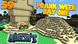 How To Minecraft   #59   THE SANDSTORM PRANK   Minecraft PRANK WEEK Day 1 (How To Minecraft SMP)