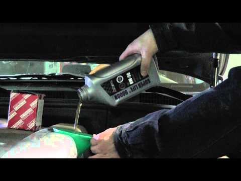 Замена масла в Lexus GX 470 двигатель 4.7 л. Масло AMTECOL SN 0w-30.