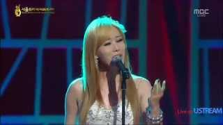 getlinkyoutube.com-YISABEL - My Eden (Gu Family Book OST) live @ Seoul International Drama Awards 2013
