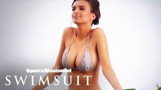 getlinkyoutube.com-Emily Ratajkowski Topless Photoshoot & More | Intimates | Sports Illustrated Swimsuit