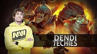 getlinkyoutube.com-Dendi Techies | ДЕНДИ МИНЕР ПУЛЕМЕТ БЕЗ ОСТАНОВКИ