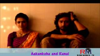 kunal and aakanksha back on Rangmunch part 1