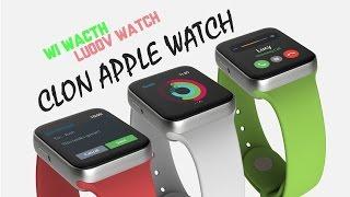 getlinkyoutube.com-Review & Unboxing Luoov | El Clon más parecido al Apple Watch