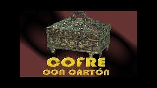 COFRE CON CARTÓN