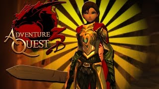 getlinkyoutube.com-AQ3D Open Beta LEVELING AdventureQuest 3D