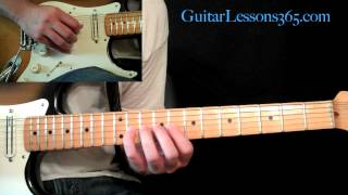 Sweet Child O' Mine Guitar Lesson Pt.5 - Guns N' Roses - Main Guitar Solo - Slash