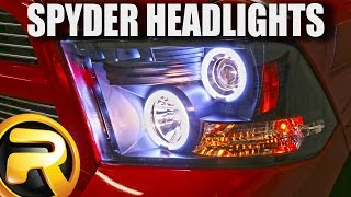 How to Install Spyder Halo Headlights