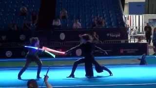 getlinkyoutube.com-Star Wars duel on Fencing Senior World Championships Moscow 2015