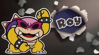 getlinkyoutube.com-Paper Mario color splash ITA #41 Il castello di Bowser part 1 BOSS ROY