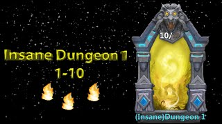 getlinkyoutube.com-Castle Clash Insane Dungeon 1 (1-10)