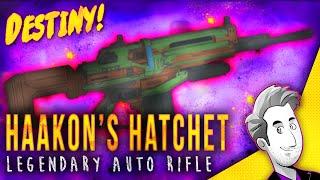 getlinkyoutube.com-Haakon's Hatchet Legendary Auto Rifle | Gameplay Review | Destiny