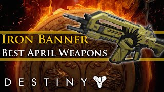 getlinkyoutube.com-Destiny - Best Exotic/Legendary weapons for the April Update Iron Banner