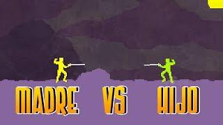 getlinkyoutube.com-MADRE vs HIJO - Nidhogg con mi Madre