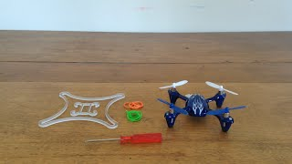 getlinkyoutube.com-Dreamcatcher Frame Build, Hubsan X-4 Electronics