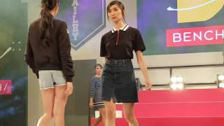 getlinkyoutube.com-Ylona Garcia ramps the runway #BenchXBailona