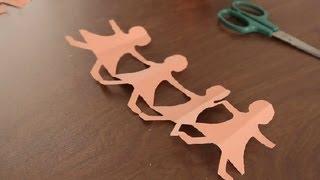 getlinkyoutube.com-Como Hacer Munecas de papel : Proyectos de Arte en Papel