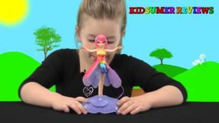 getlinkyoutube.com-Deluxe Light Up Flutterbye Fairy Review - Anya's Kidsumer Reviews